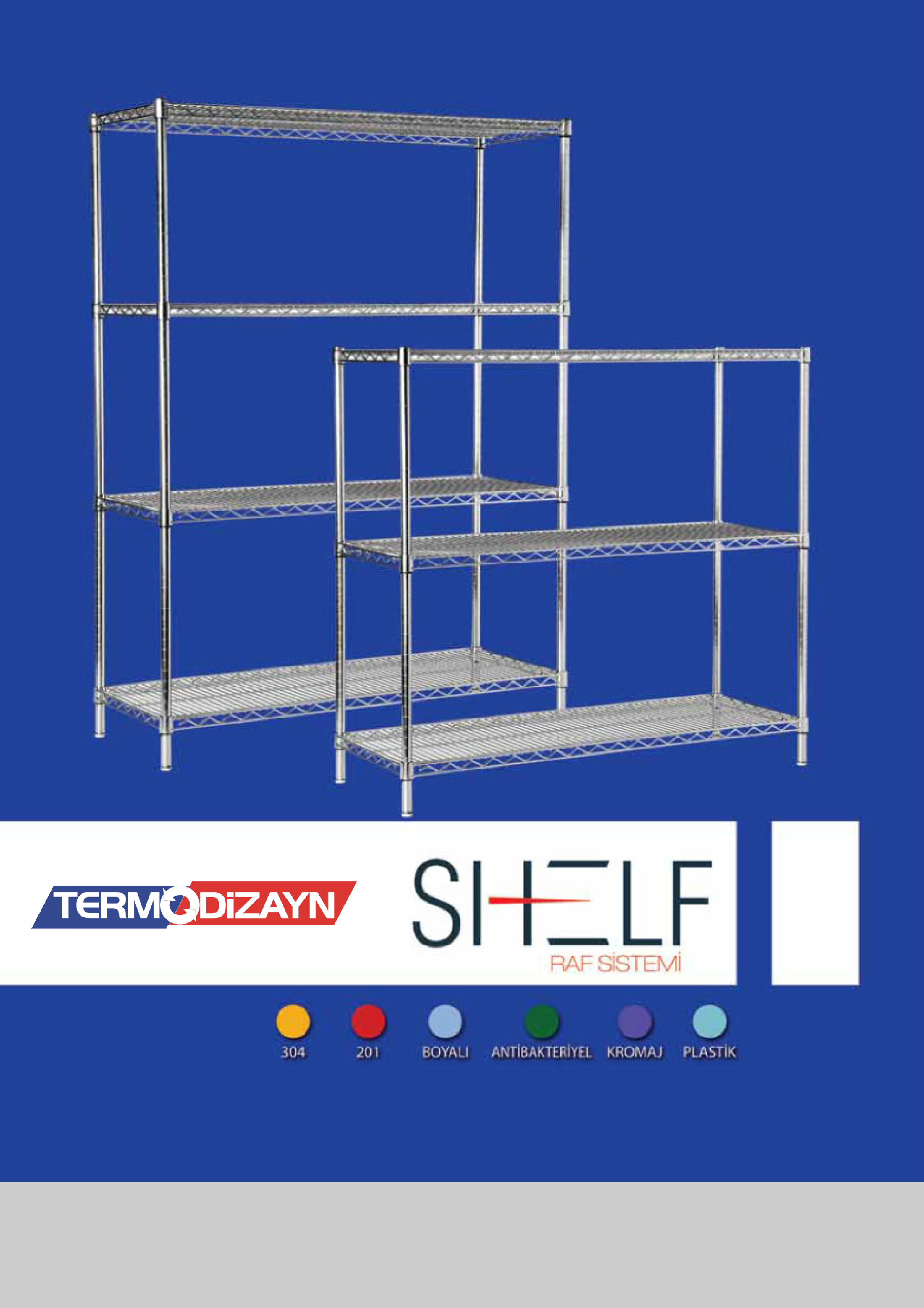 cold room shelves